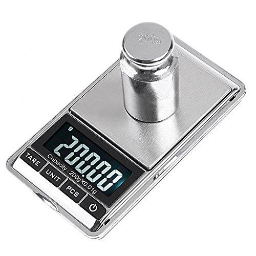 KKmoon 200g * 0.01g Mini Bilance Digitali Digital Scale per Gioielli