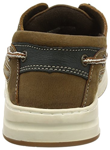 Chatham Pegasus, Chaussures Bateau Homme Brown (brown/navy)