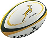 Gilbert Afrique du Sud International Replica Mini Ballon de Rugby, Blanc, Mini