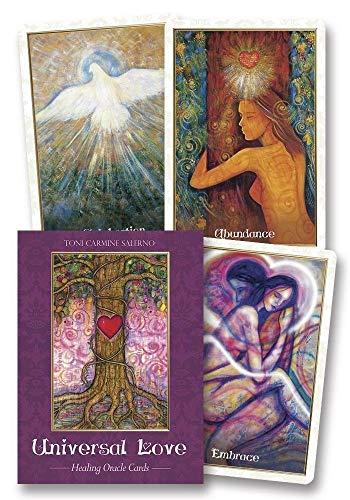 Universal Love Healing Oracle Cards por Toni Carmine Salerno