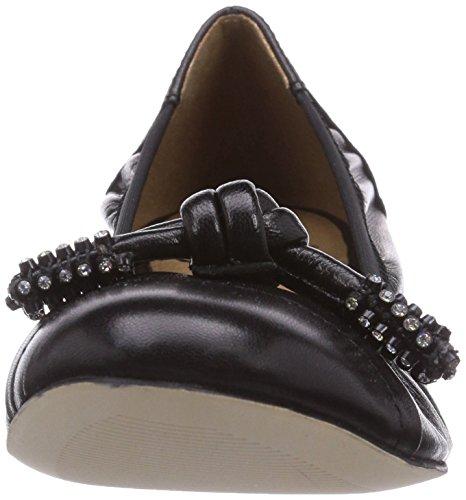 Caprice - 22110, Ballerines Noires Pour Femmes (schwarz (black / 001))