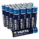 Varta Longlife Power Batterie AAA Micro Alkaline Batterien LR03 - 20er Pack