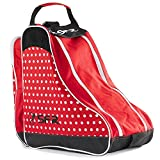 Sfr Skates Designer Ice Bag, Bolsa de Tela y de Playa Unisex Adulto, Rojo (Red Polka), 24 x 15 x 45 cm