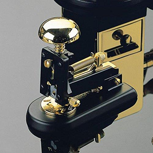 El Casco Tischhefter klein - Schwarz & 23-Karat vergoldet