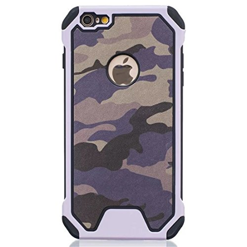 iPhone 5/5s/SE hülle vanki® Tarnung Schutzhülle Case Cover Bumper TPU+PC Handyhülle für iPhone 5/5s/SE (B) E