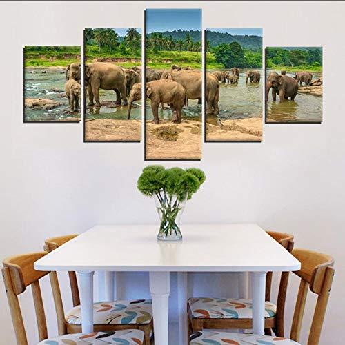 hhlwl Pinturas en lienzo Arte de la pared Decoración para el hogar...