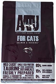 AATU 85 / 15 Nourriture pour Chat Saumon et Hareng 3 kg