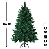 Künstlicher Weihnachtsbaum mit braunen Ästen HOCHWERTIGE Qualität - 188 Äste - Höhe 1