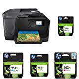 HP OfficeJet Pro 8710 Multifunktionsdrucker schwarz + HP 953XL Multipack
