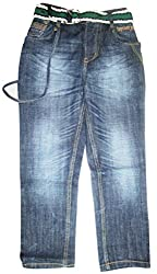 Topchee Kids Jeans (JNK-08_Blue_14 to 15 Years)