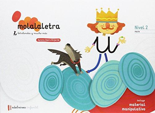 Mola la letra nivel 2. 4 años pauta editado por Edelvives