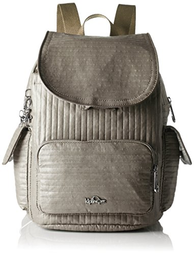 Kipling - City Pack S, Mochilas Mujer, Beige (Misty Taupe), One Size