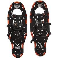 Black Crevice Snow Shoes, Unisex, Schneeschuhe, Black/Orange