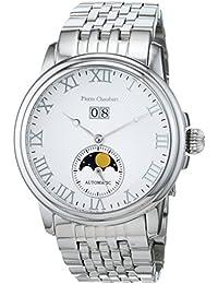 Pierre pantalones Bert Herren-reloj analógico de pulsera automático acero inoxidable HEWM1048