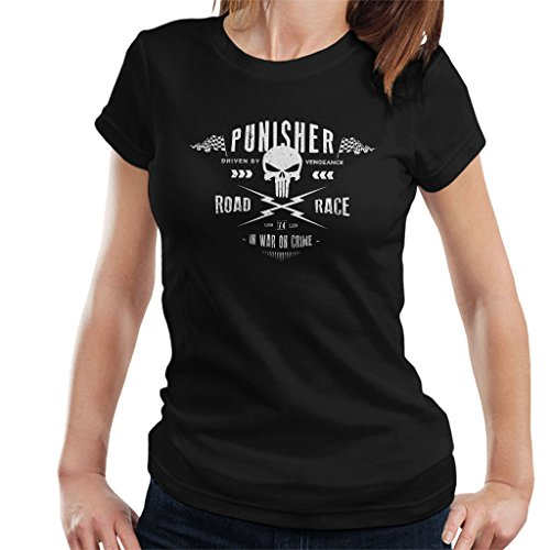 The Punisher Racing Logo Women's T-Shirt (T-shirt Racing Damen)