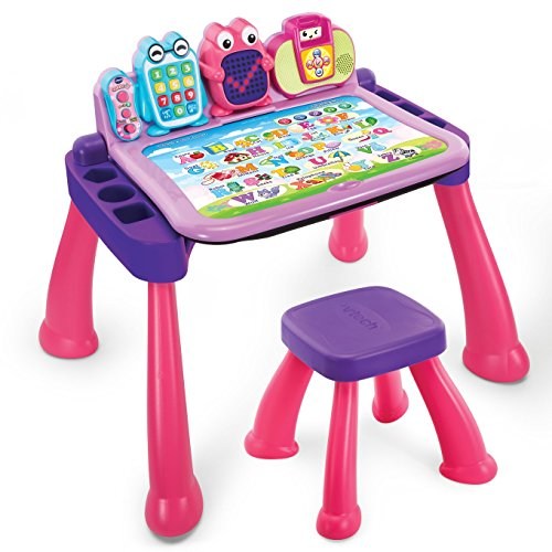 Image of Vtech Pre-School Interactive Create and Discover Learning Desk