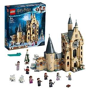 LEGO HarryPotter LaTorredell'OrologiodiHogwarts, Giocattolo Compatibile con i Playset della Sala Grande e il Platano Picchiatore, 75948 5702016368697 LEGO