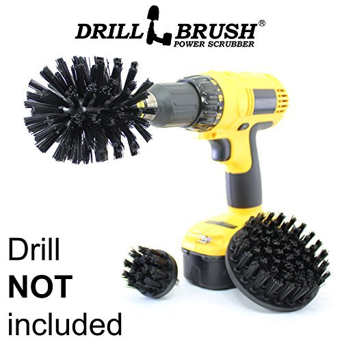 Cleaning Accessories - Industrial Brush - Baked on Food Remover - Electric Smoker - Smokers and Grills - Drill Brush - BBQ Cleaning Kit - Rust Remover - Hard Water, Calcium, Mineral, and Stain Remover