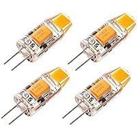 Sunix® 1.5W G4 COB LED lampadina, 15W alogene lampadine equivalenti,