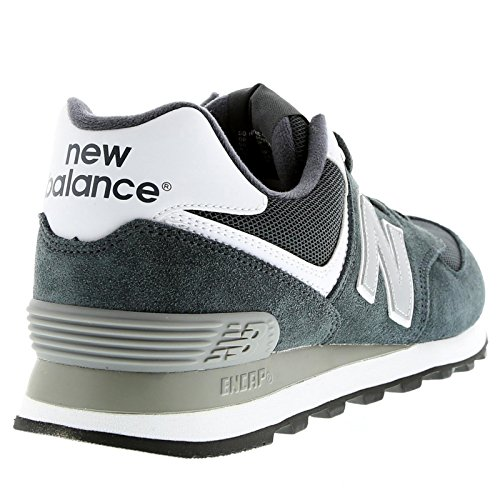 New Balance Ml574 D, Sneakers Basses Homme Gris