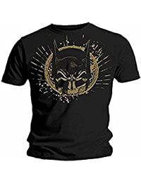 BATMAN - GOLD SKULL MASK - OFFICIAL MENS T SHIRT