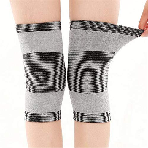 f653a2852a He-shop Knee Support, Bamboo Charcoal Knee Pads Sports Protective Gear  Ultra-thin