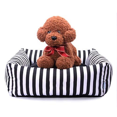 JM- Weiches Plüsch Hundebett Mit Reversible Nackenkissen, abnehmbarem und waschbarem Bezug, Hundebetten für Klein, Mittel und Jumbo (größe : L)