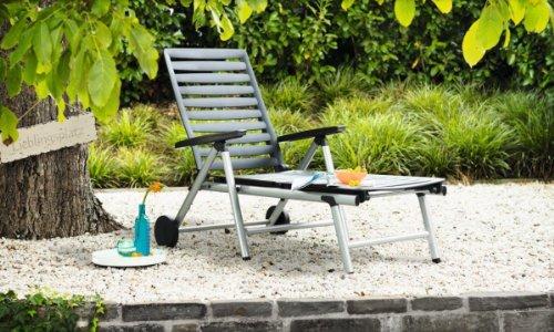 Gartenliege Sonnenliege Wave Aluminium KETTALUX von Kettler