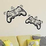 Joystick Playstation Gamepad Habitación de los niños Etiqueta de la pared Mural Vinilo Decal Nursery Kids Gamers Art Teenager