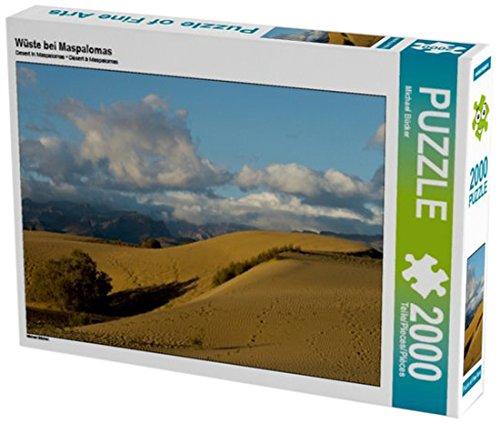 Preisvergleich Produktbild Wüste bei Maspalomas 2000 Teile Puzzle quer (CALVENDO Orte)