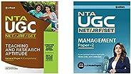UGC NET/JRF/SLET General Paper-1 Teaching & Research Aptitude 2020+NTA UGC (NET/JRF/SET) Management 2020 (