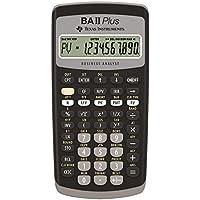 Texas Instruments BAII PLUS - Calculadora financiera, negro