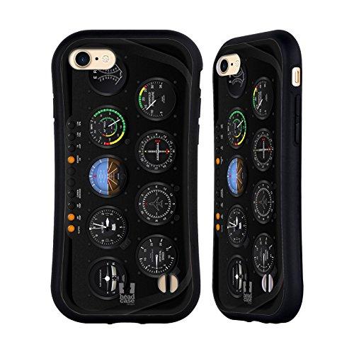 Head Case Designs Hubschrauber Flugzeug Kampfplatz Brett Hybrid Hülle für iPhone 7 / iPhone 8 (Hubschrauber I Phone)