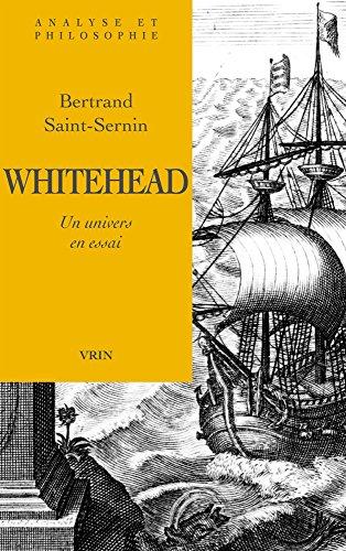 Whitehead, un univers en essai