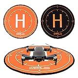 Diadia StarTRC Landepads, 40 cm, universal, Landepads, schnell zusammenklappbar, für DJI Mavic Air Pro Spark Drohnen