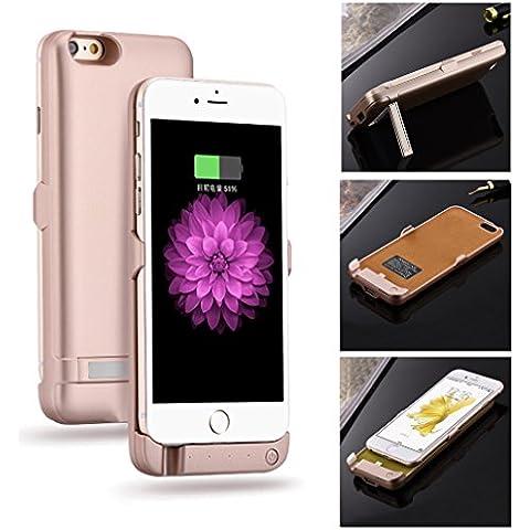 Aursen® Tapa de la batería real banco de la energía 5800mAh para el iPhone 6 / 6S , cargador de batería de reserva externa cubierta de la caja de la batería para el iPhone 6 / iPhone 6S - Oro