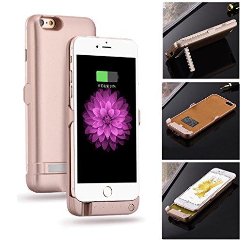Aursen® Tapa de la batería real banco de la energía 3800mAh para el iPhone 5 / 5S / SE , cargador de batería de reserva externa cubierta de la caja de la batería para el iPhone 5 / 5S / SE - Oro