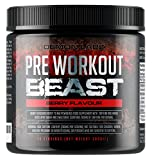 Best Pre Workout Supplements Women - Pre Workout Beast (Berry Flavour) - 40 Servings Review
