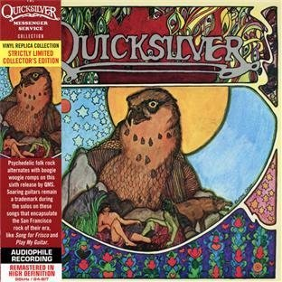Quicksilver - Paper Sleeve - CD Deluxe Vinyl Replica Collector's Edition, Limited Edition, Original recording remastered Edition by Quicksilver Messenger Service (2012) Audio CD Edition Messenger