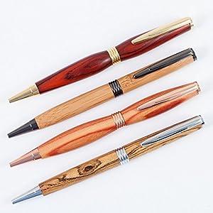 Dreh Kugelschreiber aus Holz Modell