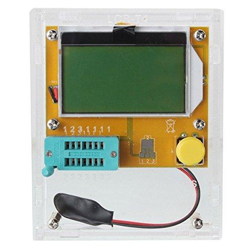 Bluelover Lcr-T4 Transistor Tester Diode Triode Lcd Esr Meter Induktivität Mit Gehäuse -Transparent