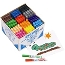 Crayola 3.7823  144 Broad Line Colouring Class Pack - Multicolor
