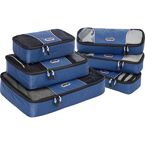 eBags , Organizer per valigie , Denim (Blu) - EB7109-A-DNM