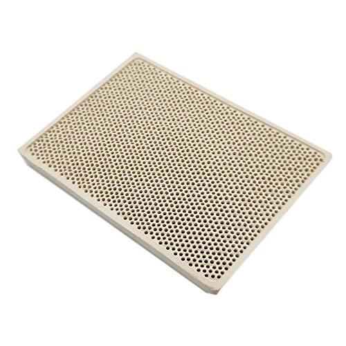 Meter Star Cordierite Keramikbrenner für Hochtemperaturplatte Gasgrill Ersatzteile Ofen Heizkamm 132 x 92 x 14 mm