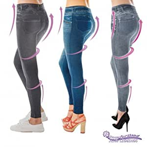 JEGGINGS AMINCISSANTS X3 (S/M  34/40)
