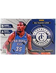 2012/13 totally panini hobby box certified boîte d'autocollants à collectionner basketball nBA