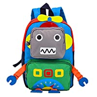 School Backpacks for Primary School with Reflective Warning Strip Ergonomic Design Protects Spine Kid