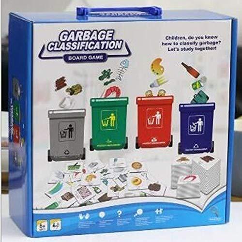 AIOJY Kindergarten Pädagogische Ausrüstung Früherziehung Modellspielzeug Spielball Kind Wissenschaft Bedeutung Puzzle Nippespielzeug Plastikspielzeug Müll Klassifizierung Modellspielzeug