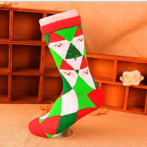nulala Männer und Frauen Socken Weihnachtsstrümpfe Atmungsaktive Schlauch Socken Baumwolle Sport Socken Schulsocken für Mädchen/Jungen