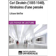 Carl Einstein (1885-1940). Itinéraires d'une pensée de Liliane Meffre: Les Fiches de Lecture d'Universalis